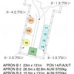 富山APのエプロン変更