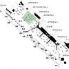 大阪国際空港のスポット変更